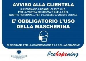 CARTELLO INGRESSO_MASCHERINA